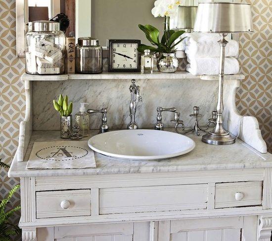 Galeria de fotos e imagens casas de banho vintage for Muebles de bano estilo vintage