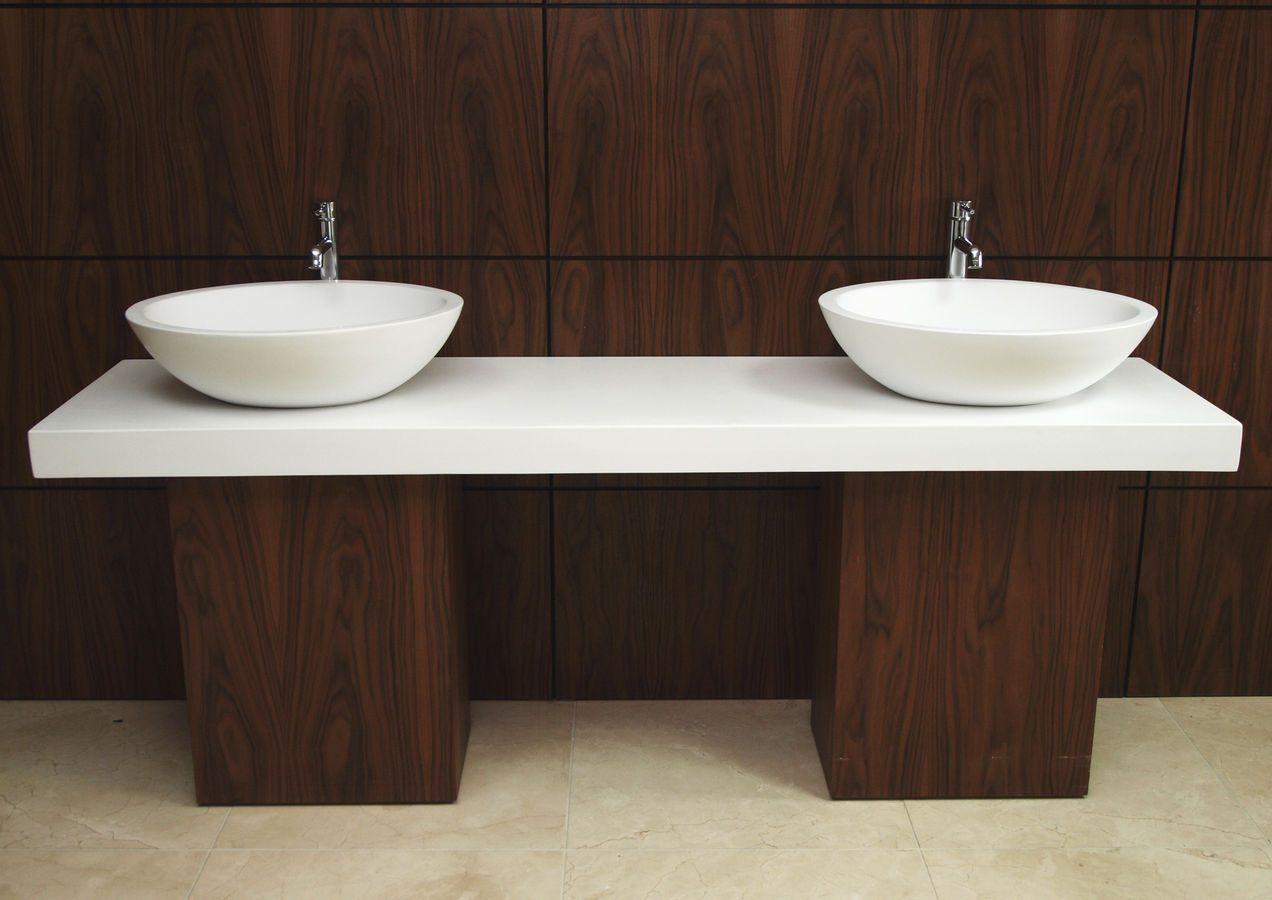 Galeria de fotos e imagens bancadas de casa de banho - Encimeras de madera para bano ...
