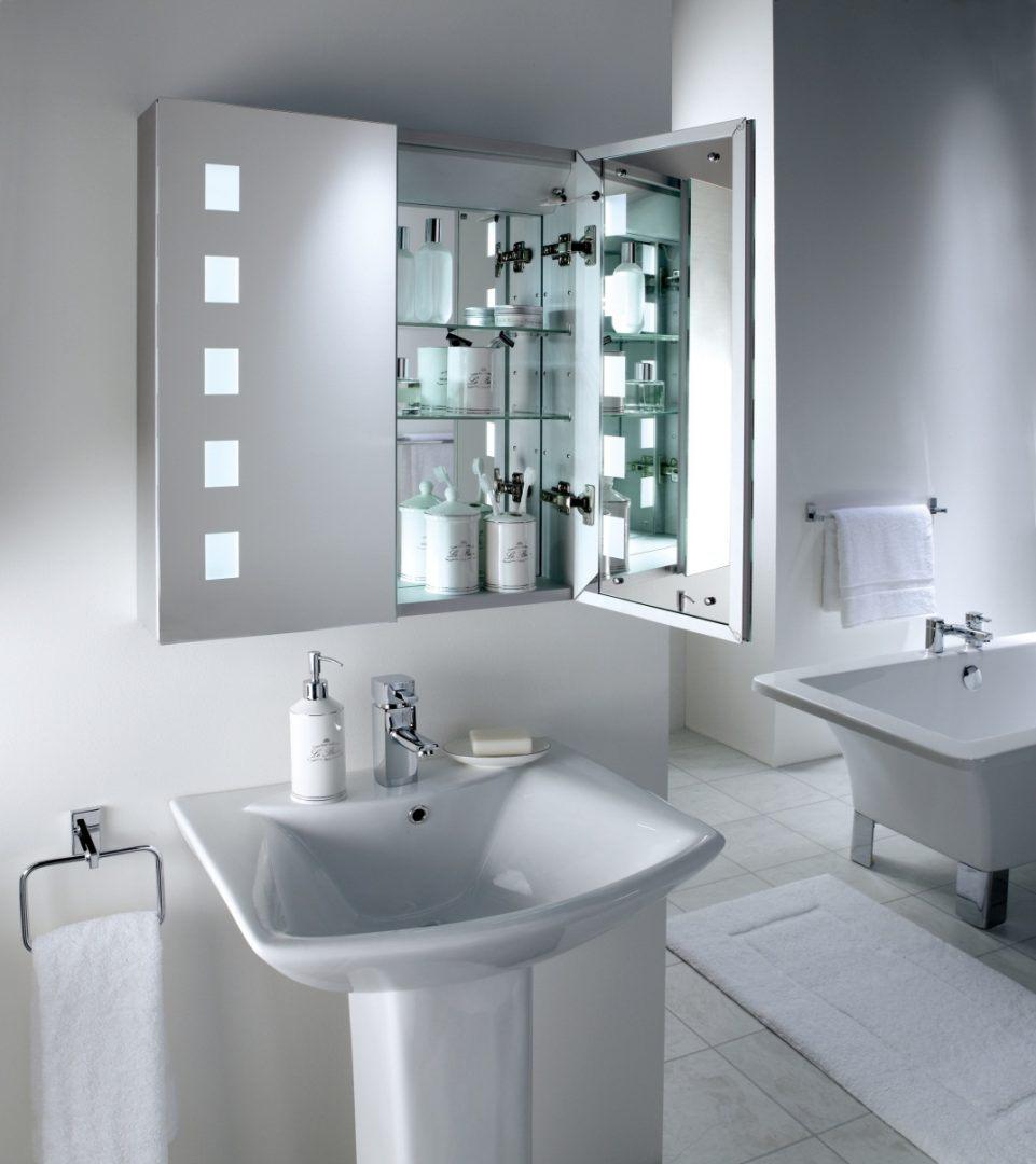 Espelho de casa de banho com luz fotos e imagens - Luz pulsada en casa ...