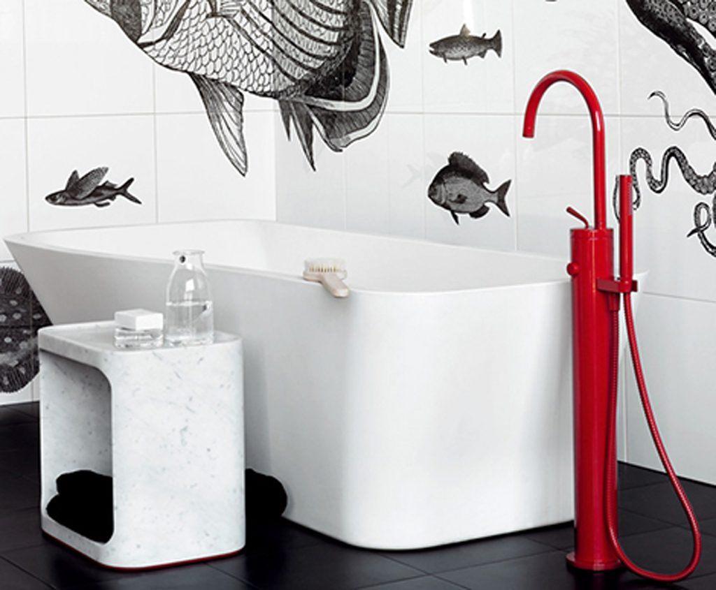 #BA1023 Uma Galeria Com Fotos De Banheiros Decorados Com Papel De Parede  1024x845 px Banheiros Decorados Papel De Parede 979